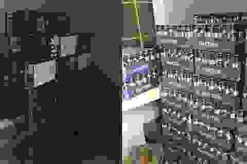 Phát hiện và thu giữ hàng trăm thùng bia không rõ nguồn gốc