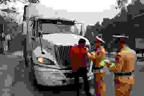 Thanh Hóa: Phát hiện nhiều lái xe tải có nồng độ cồn