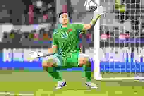 Thủ thành Đặng Văn Lâm muốn chơi bóng ở châu Âu