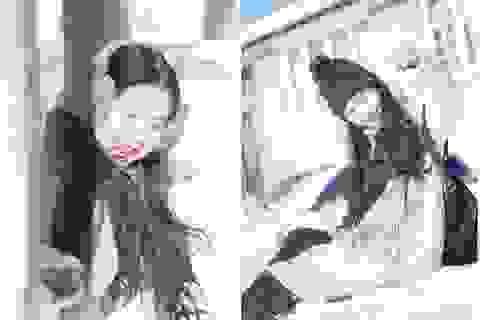 """""""Hot girl bánh mướt"""" xứ Nghệ khoe sắc giữa trời tuyết Canada"""