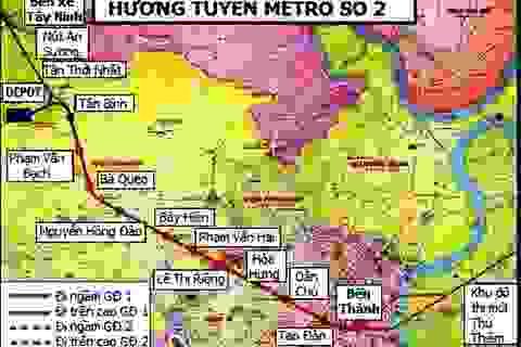 Hủy gói thầu sai quy định tại tuyến metro số 2