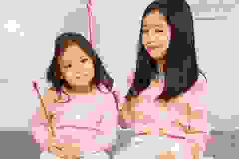 """""""Công chúa"""" nhà Lưu Hương Giang – Hồ Hoài Anh xinh như thiên thần"""