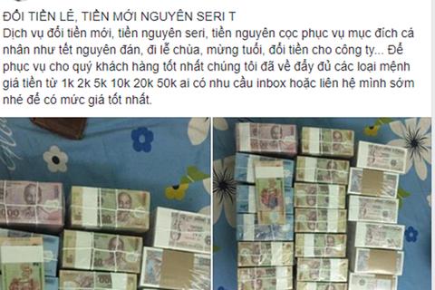 """Phí đổi tiền lẻ """"chợ đen"""" giá """"trên trời"""": Đổi 1 triệu mệnh giá 500 đồng mất phí 7 triệu đồng"""