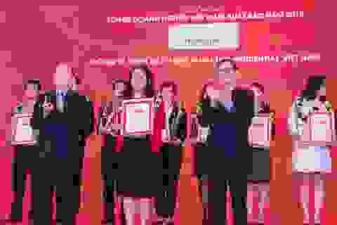 Prudential Việt Nam được vinh danh là doanh nghiệp bảo hiểm nhân thọ xuất sắc Việt Nam