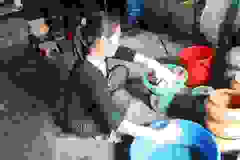 Hà Nam: Cận Tết, người kho cá thuê Đại Hoàng kiếm tiền triệu/ngày