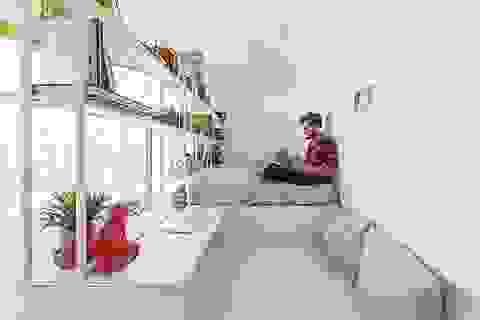 Tận dụng khoảng không 18m2 bỏ trống biến thành nhà đẹp như mơ