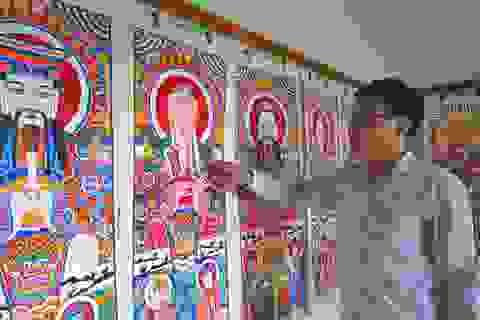 Thờ tranh- nét văn hóa độc đáo của người Dao