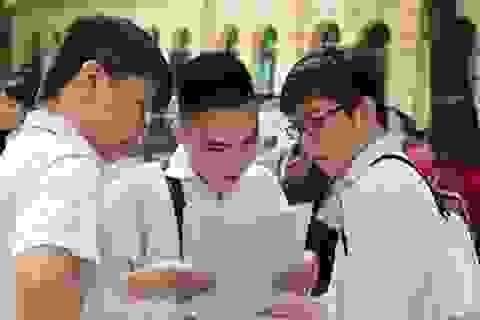 Bộ Giáo dục công bố những điều chỉnh mới nhất trong kỳ thi THPT quốc gia 2019
