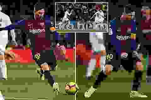 Messi lập cú đúp, Barcelona vẫn hòa thất vọng Valencia