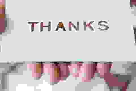 Năm mới là lúc doanh nhân nên nói lời cảm ơn đến 7 đối tượng này