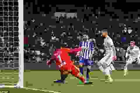 Thắng đậm Alaves, Real Madrid áp sát Atletico