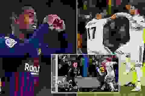 Barcelona 1-1 Real Madrid: Bất phân thắng bại