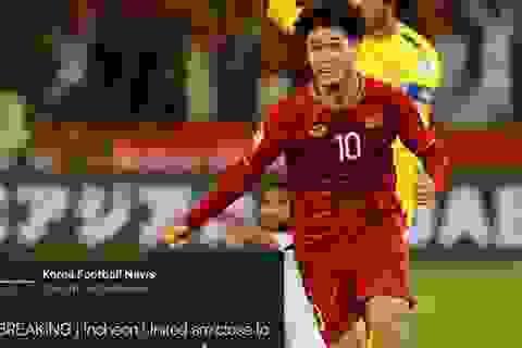 Báo chí Hàn Quốc lên cơn sốt với Công Phượng trước ngày ra mắt Incheon