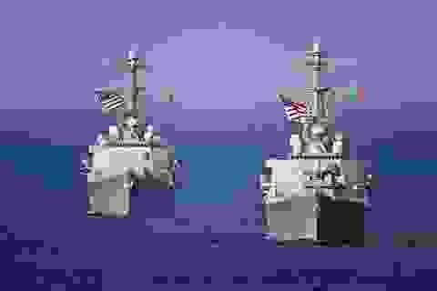 Tàu khu trục Mỹ áp sát khu vực Trung Quốc chiếm đóng trái phép ở Biển Đông