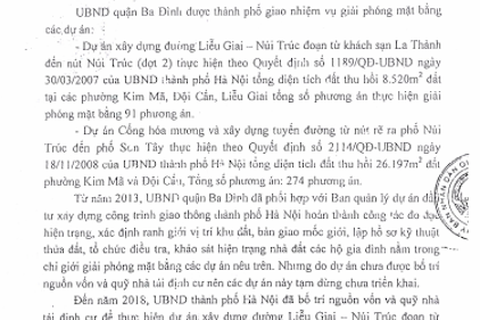 Hà Nội: Thêm kiến nghị tăng quyền lợi cho dân sau loạt bài của Báo Dân trí