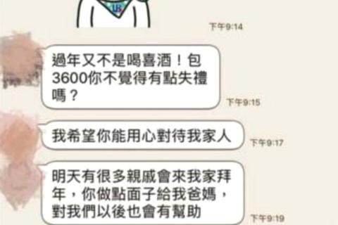 Cô gái thẳng thắn đòi bạn trai lì xì gia đình mình mỗi người hơn 200 USD, không được thì chia tay