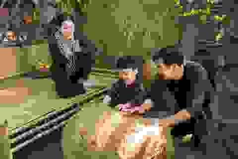 Ngọc Lan, Thanh Bình nhắng nhít chụp ảnh Tết cùng con trai