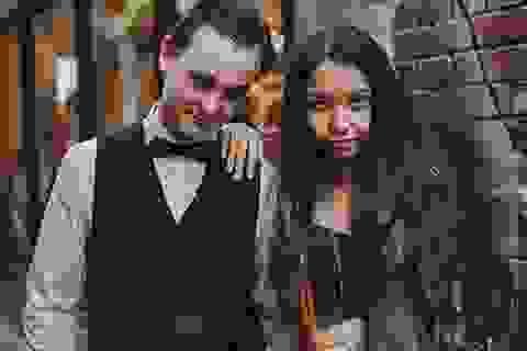 """Chuyện tình """"bạn thân - bạn trai"""" của Hoa khôi du học sinh Việt tại Úc"""