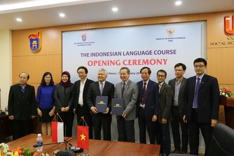 Tiếng Indonesia chính thức được giảng dạy tại Trường ĐH Khoa học XH&NV