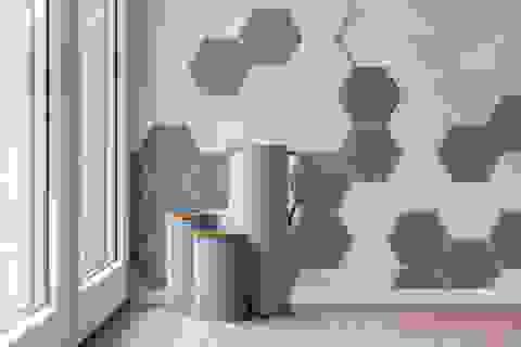 Phòng ngủ châu Âu: Áp dụng hình học vào thiết kế phòng ngủ