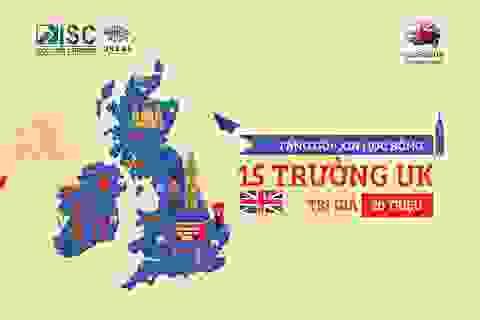 Tặng gói dịch vụ xin học bổng vào 15 trường Anh quốc trị giá 20 triệu tại triển lãm du học Edufair UK 3.2019
