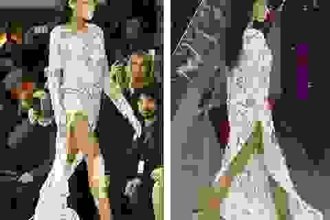 Siêu mẫu bạch biến nổi bật tại tuần lễ thời trang Milan