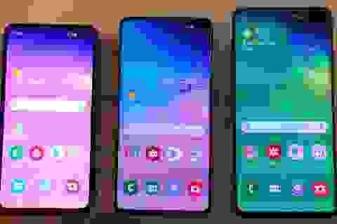 """Đọ cấu hình bộ ba Galaxy S10 cùng loạt """"đối thủ nặng ký"""""""