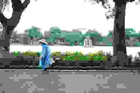 Gió mùa Đông Bắc tràn về, Hà Nội sắp mưa rét