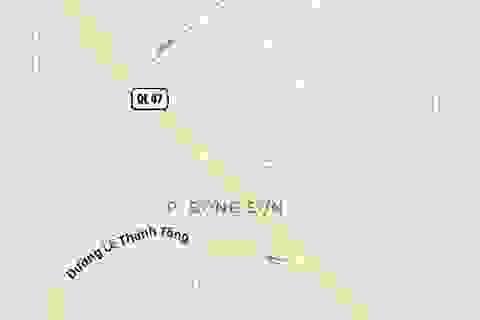 """""""Đổi"""" hơn 19 ha đất lấy 455 m đường"""