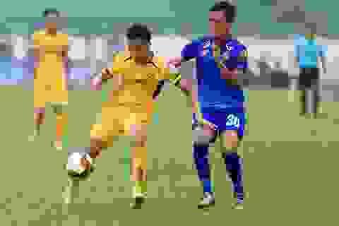 SL Nghệ An thắng dễ dàng Quảng Nam trên sân Vinh