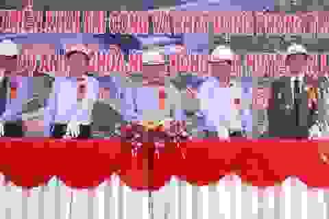 Khởi công xây dựng hồ chứa nước lớn cuối cùng tại Bình Định