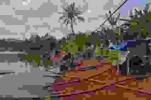"""Người dân lao đao, hàng ngàn ha cây trồng """"chờ... chết"""" vì nắng hạn"""