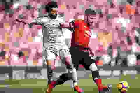 Đội hình tiêu biểu vòng 27 Premier League: Vinh danh hàng thủ MU