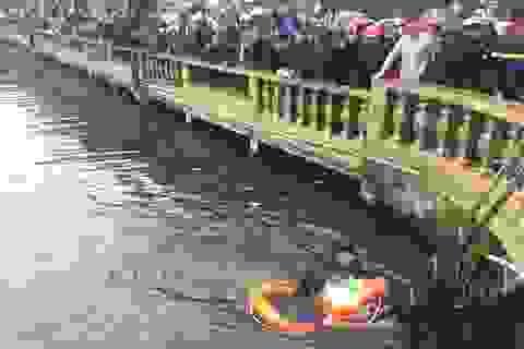 Người đàn ông say rượu ngã xuống hồ tử vong