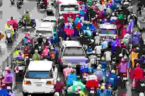 """Chuyên gia: """"Hà Nội và TPHCM dành chưa đến 9% diện tích đất đô thị cho giao thông"""""""