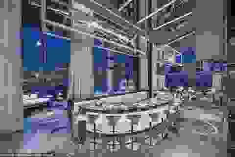Vẻ đẹp nghệ thuật của phòng khách sạn đắt nhất thế giới