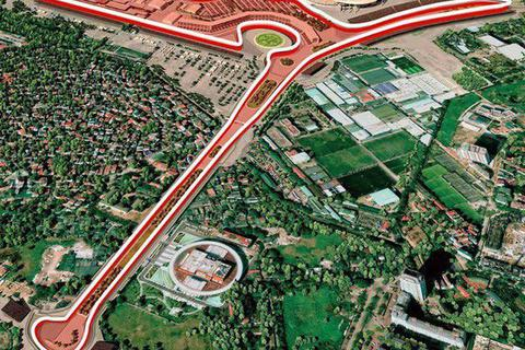 Hà Nội chính thức chốt trường đua xe F1 rộng hơn 88 ha