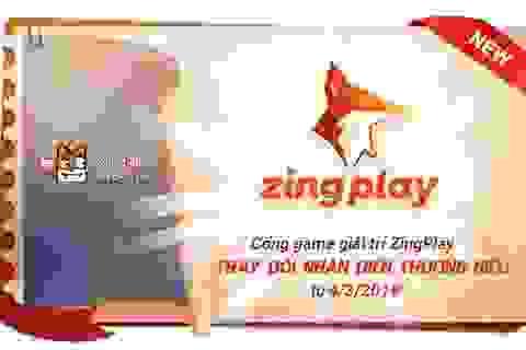 Cổng game giải trí ZingPlay công bố thay đổi logo