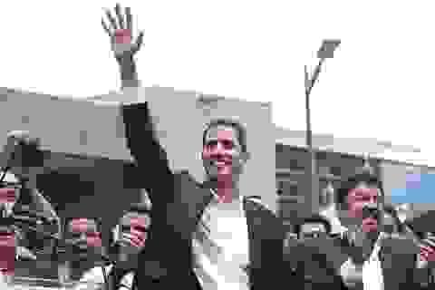 Lộ hành trình bí mật về nước của thủ lĩnh đối lập Venezuela bất chấp nguy cơ bị bắt