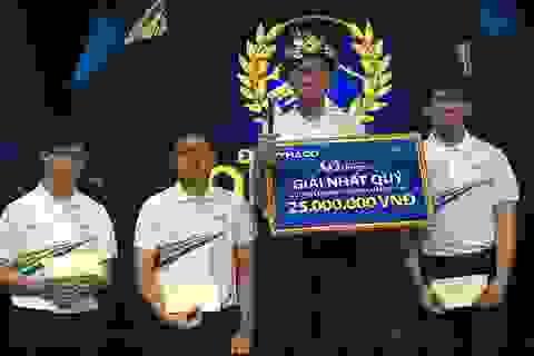 """Tấm vé thứ 2 vào chung kết Olympia gọi tên thí sinh Khánh Hoà, hot boy Rubik """"sảy chân"""" đáng tiếc"""