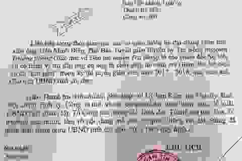 """Chủ tịch Quảng Ngãi """"hỏa tốc"""" chỉ đạo xác minh vụ tố cáo Giám đốc Sở Nội vụ"""