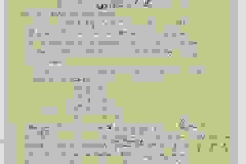 """Trang bản thảo bị mất về """"Thuyết vạn vật"""" của Anh-xtanh đã được tìm thấy"""