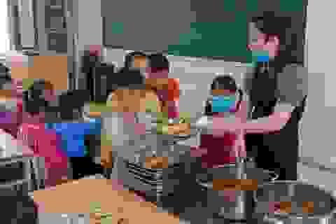 Hoàng Mai, Hà Nội: Trên 80% học sinh đã thụ hưởng thực đơn dinh dưỡng học đường