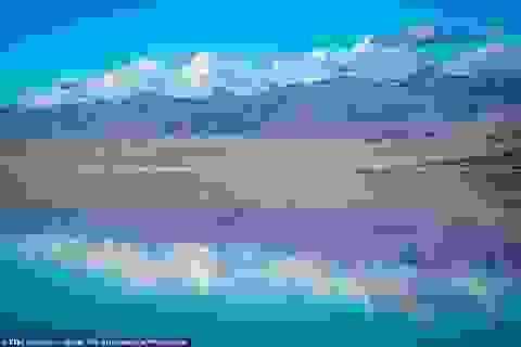 Hồ nước tuyệt đẹp đột nhiên xuất hiện ở Thung lũng Chết chỉ sau một ngày
