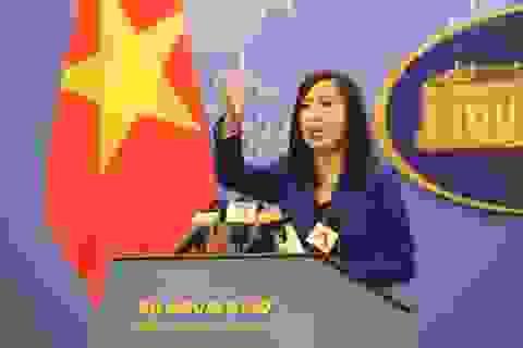 Bộ Ngoại giao Việt Nam nói gì về việc Trung Quốc vây đảo Thị Tứ?