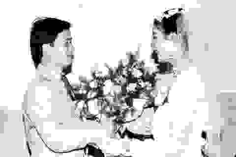 Ảnh cưới chưa hề công bố của NSƯT Chiều Xuân hồi thập niên 80