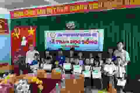 80 suất học bổng Grobest Việt Nam đến với học sinh nghèo tỉnh Bình Thuận