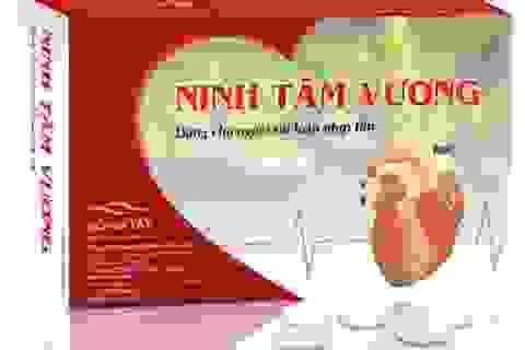 Ninh Tâm Vương-hỗ trợ giảm hồi hộp, trống ngực ở người rối loạn nhịp tim