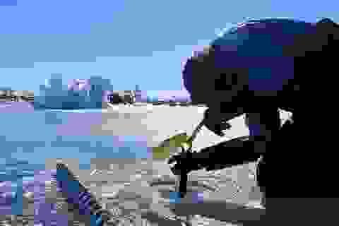Thềm băng ở Nam Cực đang bị rung chuyển bởi… hàng ngàn trận động đất