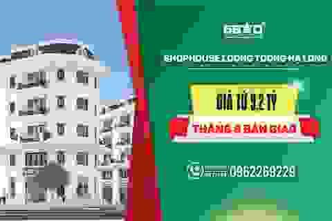 Shophouse Loong Toong ghi điểm nhờ tiến độ thi công vượt trội